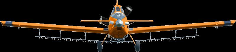 avión fumigador Air Tractor